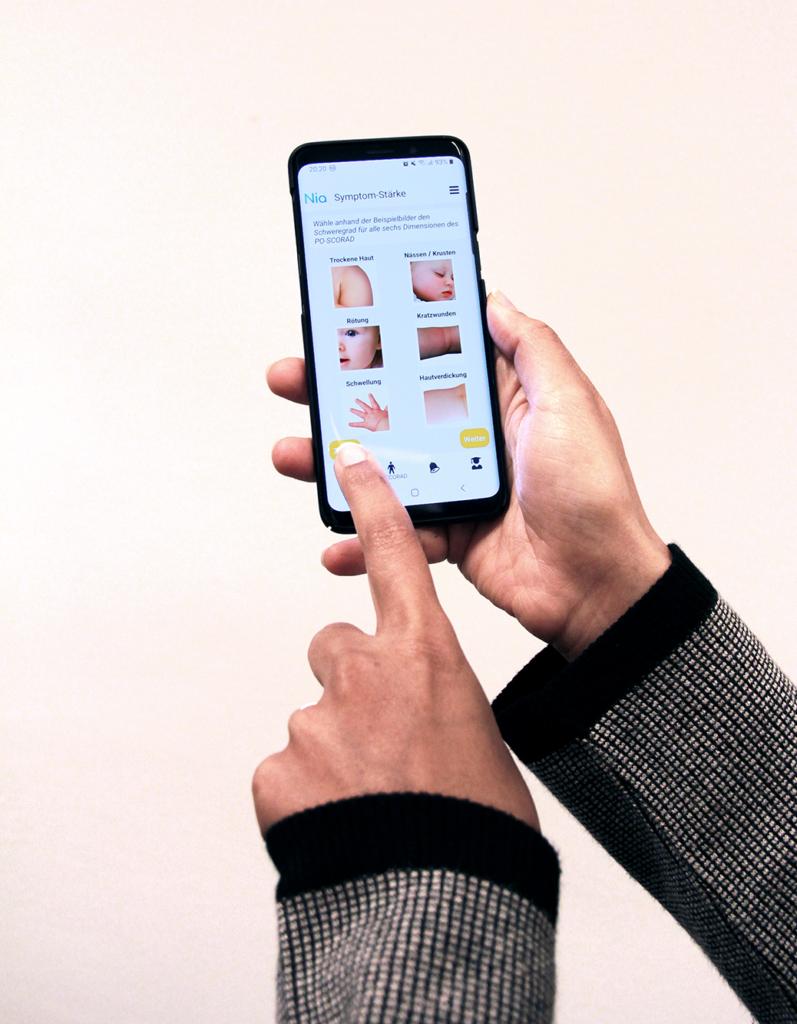 Nia App überzeugt durch einfache Bedienbarkeit